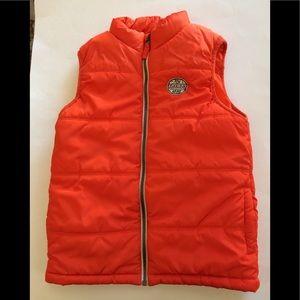 Oshkosh B'Gosh Boy's size 7 zip up vest. GUC